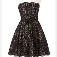Robert Rodriguez black lace dress  Beautiful Robert Rodriguez for Target black lace dress. Size 6  Robert Rodriguez Dresses Midi