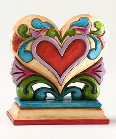 This Mini Heart Figurine by Jim Shore is perfect! #zulilyfinds