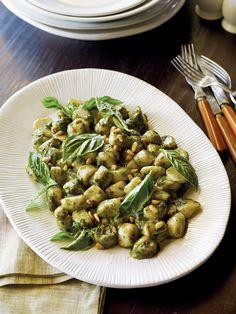 Italian Food ~ #food #Italian #italianfood #ricette #recipes ~ Pesto Gnocchi ~ Classic Italian Pastas