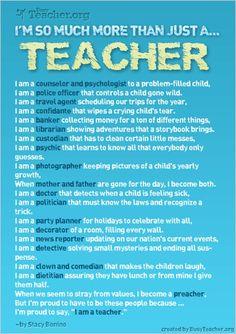 Live, Laugh, Love: School is Cool... Hug a Teacher!