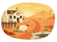 Desert animation     MUTI is a creative studio based in the city of Cape Town, South Africa.