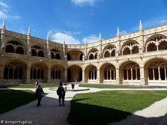 7 maravilhas de Portugal - Mosteiro dos Jerônimos (Bairro do Restelo)