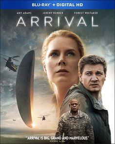 ARRIVAL (2016) Blu-ray