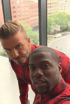 David Beckham wearing  H