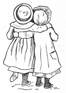 Best friends image from the Vintage Moth