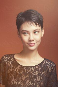 'KARA?' ..... (Beautiful Mixed Asian Short Haired Female Model by Quavondo Nguyen)