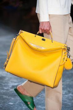 Fendi Selleria Peekaboo S/S 2015 Menswear