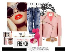 """""""French Speaker"""" by style-beyond-shopping ❤ liked on Polyvore featuring Arco, Fendi, Cecilia Ma, Dsquared2, Luxury Fashion, Rolex and Charlotte Tilbury"""