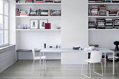 Contemporary lacquered dining table HELSINKI by Caronni & Bonanomi DESALTO spa