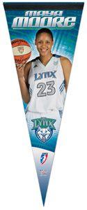 Maya Moore WNBA Superstar Premium Felt Pennant - Wincraft Inc.