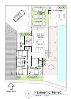 Best 12 Clique para fechar imagem, clique e arraste para mover. Use setas para o próximo e anterior 4 Bedroom House Plans, Dream House Plans, Small House Plans, House Floor Plans, Villa Plan, Model House Plan, Home Design Floor Plans, Architecture Plan, House Layouts