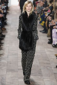 Fur accents: Michael Kors F/W 2015 -fur in different ways