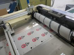 Press used for Scree Printing