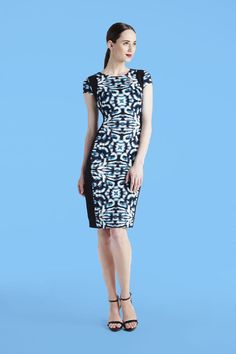 Maggy London | Mirror Print Dress
