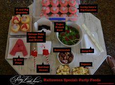 Menu Ideas for Pretty Little Liars Party