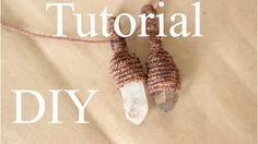 tutorial macrame envolver piedras - YouTube