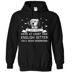 English Setter T Shirts, Hoodies. Get it here ==► https://www.sunfrog.com/Pets/English-Setter-4916-Black-Hoodie.html?57074 $39.99