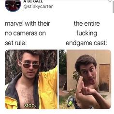 30 Fresh Avengers Memes Thatll Scratch Your MCU Itch Funny memes that GET IT and want you to too. Get the latest funniest memes and keep up what is going on in the memeosphere. Avengers Humor, Marvel Jokes, Funny Marvel Memes, The Avengers, Memes Humor, Dc Memes, Funny Memes, Hilarious, Humor Quotes