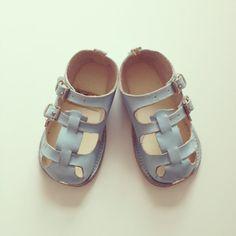 Vintage baby sandals via etsy