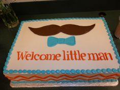 """little man"" birthday cake - change to ""Happy Birthday"", obviously :)"