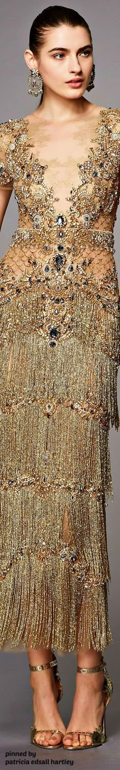 MARCHESA | PRE-FALL 2017 Couture Fashion, Runway Fashion, Fashion Beauty, Fashion Outfits, Womens Fashion, Fashion Trends, Unique Fashion, Fashion Details, High Fashion