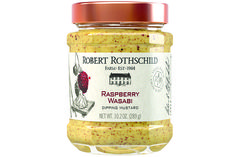 Devilish and distinct, this horseradish-based mustard borrows ethnic flavor to create a smooth and seamless condiment. Pair with roasted poultry, seared pork chops and grilled salmon fillets.  Pair with cheese and salmon, Baste poultry or pork, Spread on your favorite sandwich. $6.99 at robertrothschild.com.