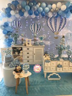Baby Shower Wall Decor, Cute Baby Shower Ideas, Baby Shower Decorations For Boys, Boy Baby Shower Themes, Baby Shower Balloons, Baby Shower Gender Reveal, Baby Shower Centerpieces, Baby Boy Shower, Carnival Baby Showers