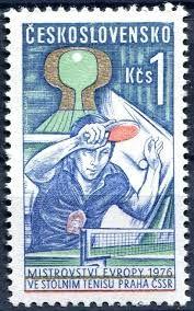 Poštovní známka Československo