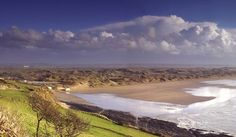 view from Saunton Sands Hotel