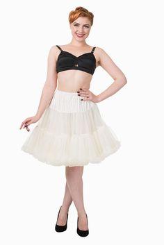 Béžová spodnička k šatům Banned Blanka Straka