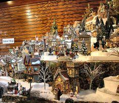 department 56 dickens village series display by department 56 via flickr christmas villages - Dept 56 Christmas Village