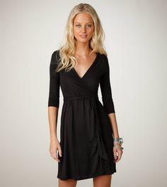 little black dress. american eagle.