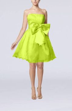 Lime Green Wedding Dress Plus Size Bridesmaid Short Resort Cheap Gown Bridal Sleeveless Summer Tulle Cute Doll