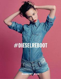 cool Diesel F/W 2013.14 | Casey Lagler, Loulou Robert, Omahyra Mota e mais por Inez & Vonoodh  [Campanha]