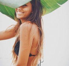 Beach hair, don't care.