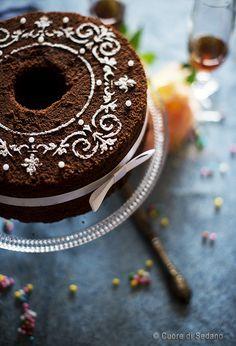 Chocolate Chiffon Cake, Matcha Cake, American Cake, Banoffee Pie, Angel Cake, Bakery Cakes, Cake Cookies, Cake Decorating, Decorating Ideas