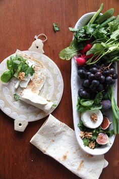 Sabzi Khordan- persicher Kräuterwrap mit Schafskäse <3 labsalliebe