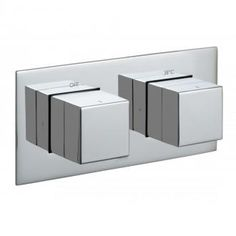 TAB-148-H-NOT-C/P 1-outlet-2-handle-thermostatic-shower-valve-horizontal by VADO