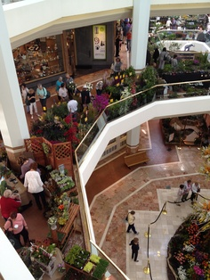 Attendees at the Southern California Spring Garden Show at South Coast Plaza. Free to attend!