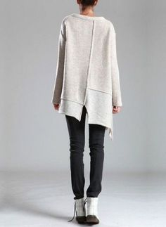 Knitting Sweter For Women Knitwear Ideas Knitting - strickpullover für frauen strickideen stricken - pull à tricoter pour les femmes tricots idées tricot Poncho Pullover, Knit Vest, Sweater Jacket, Knitwear Fashion, Knit Fashion, Look Fashion, Womens Fashion, Womens Knitwear, Vetements Clothing