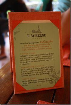 L'Auberge Hotel's tea room