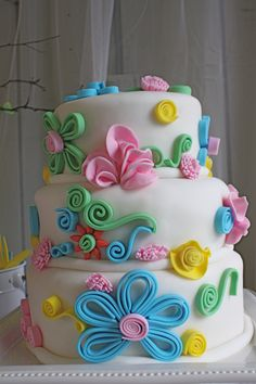 Decorate Cake With Fondant. Cake decorating is a excellent way to make contact with your creative side and you could. Fondant Cake Designs, Fondant Flower Cake, Cake Icing, Fondant Cakes, Cupcake Cakes, Fondant Bow, Car Cakes, Fondant Tutorial, Fondant Figures
