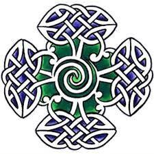Resultado de imagen de cruz celta tribal