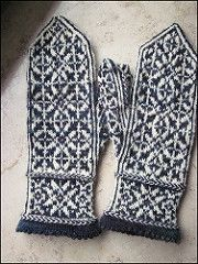 Mystery KAL in October 2013 for the i make mittens group.