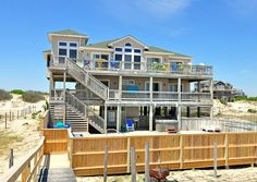 Twiddy Outer Banks Vacation Home - Changes in Latitudes - 4x4 - Oceanfront - 6 Bedrooms