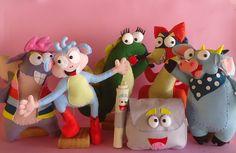 Bonecos especiais para fazer brilhar a sua festa!  Os bonecos podem ser simples ou articulados, de acordo com a sua preferência.
