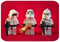 star wars lego. Stormtrooper and..