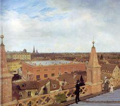 Richtung Bauakademie, 1834, Eduard Gaertner Quelle: http://www.wikipedia.de