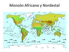 Monzón Africano y Nordestal
