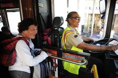 A life of pure light, even as a bus driver.
